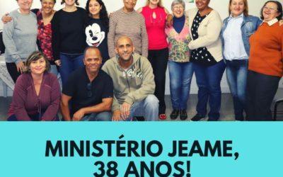 Ministério JEAME celebra 38 anos de existência